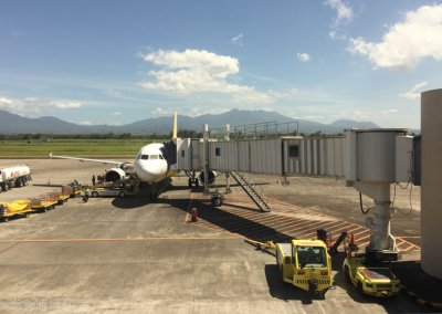 Ankunft Bacolod Airport