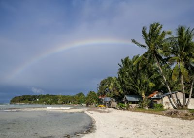 Regenbogen in Siquijor