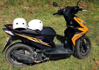 Unser Motorroller