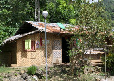 Typische Napi-Hütte