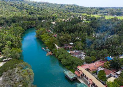Loboc River von oben