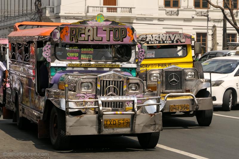 Inselhopping Philippinen – letzte Station Manila