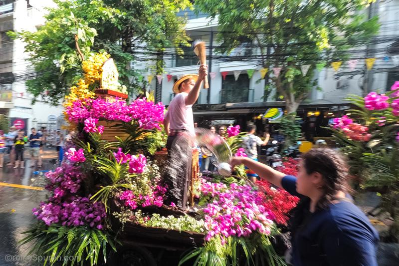 Unser erstes Songkran-Fest in Thailand