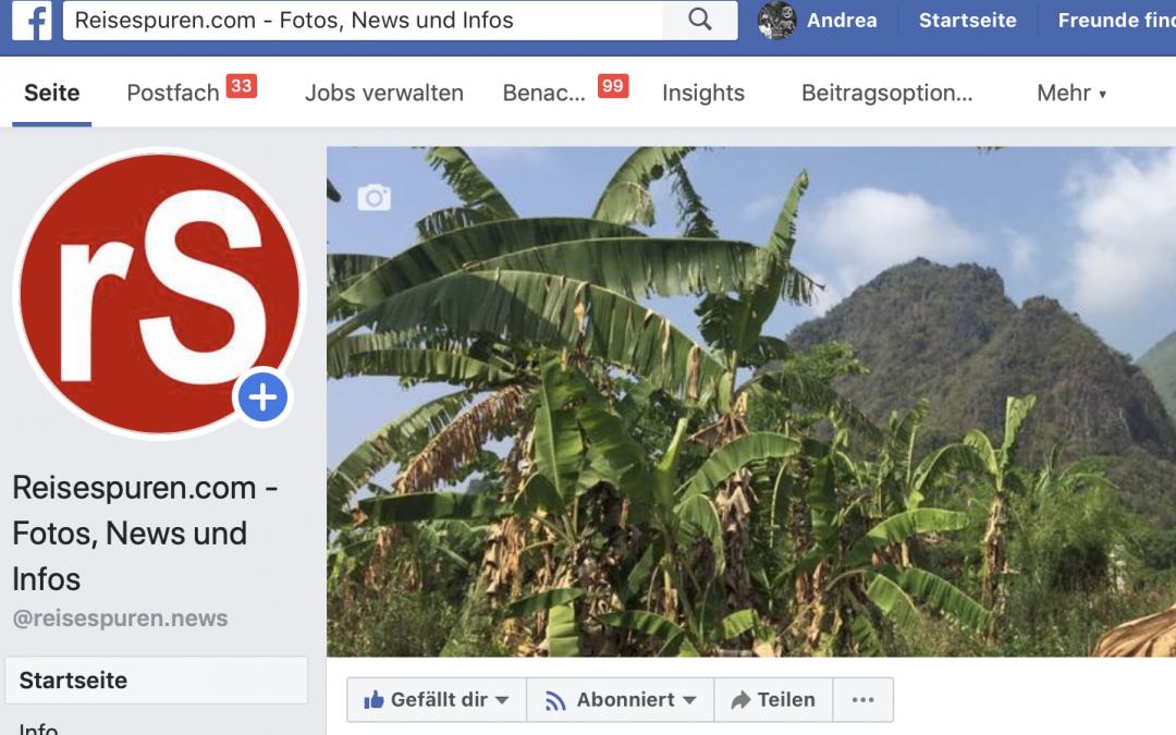 Aktuell auf Facebook!