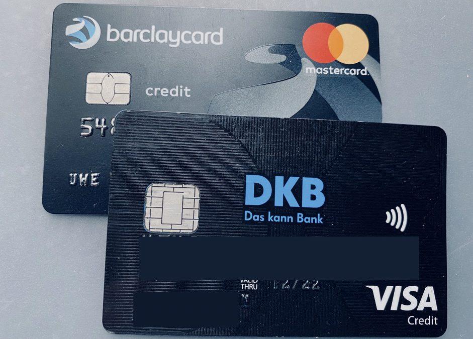 Kreditkarten auf Reisen