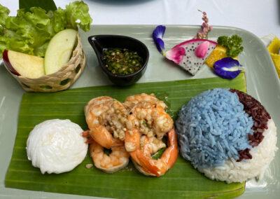 Shrimps mit Knoblauch