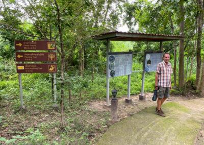 Nature Trail am Campingplatz